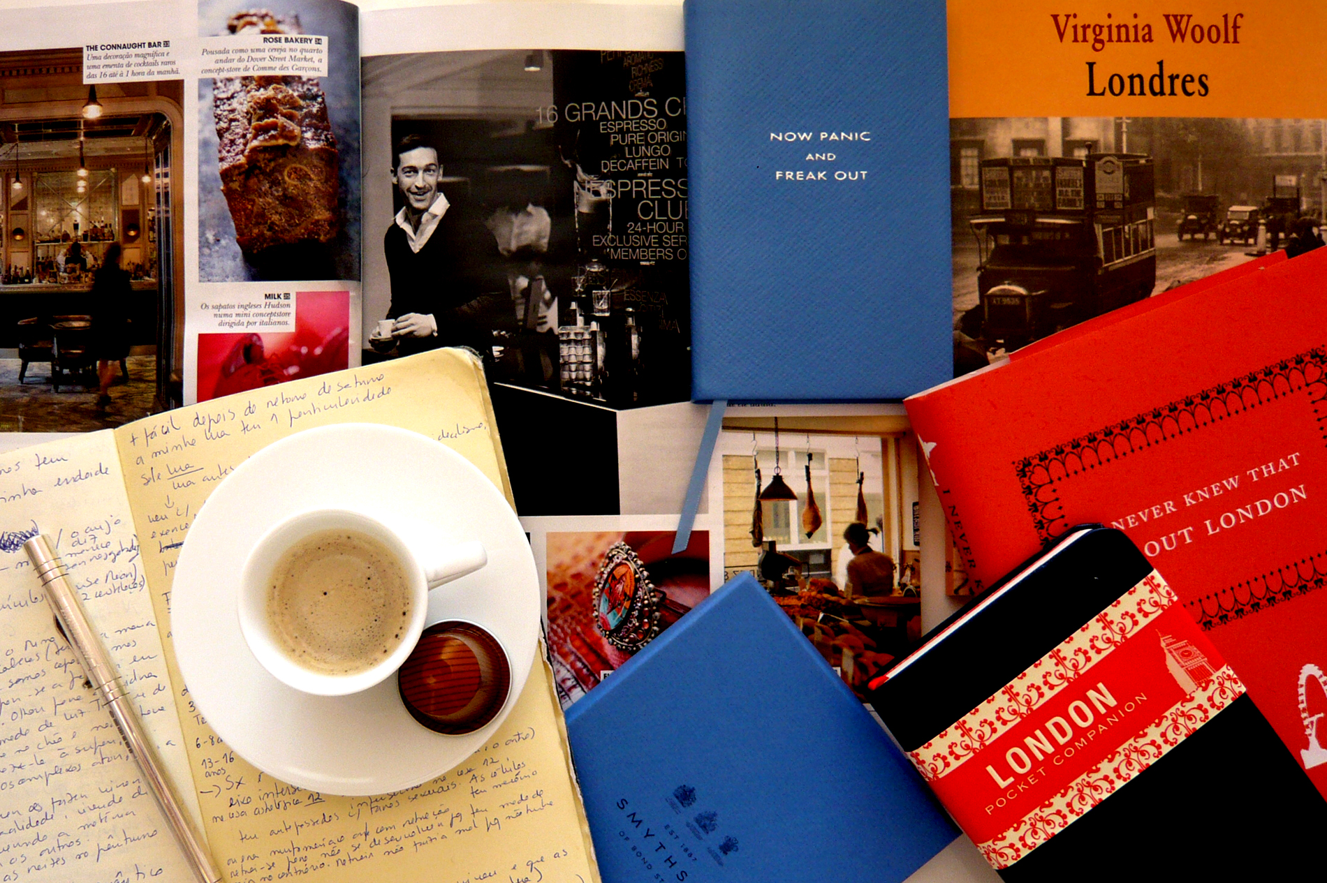 Café © Crónica Londres para Económico Sancha Trindade